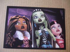 New 2013 Monster High PANINI sticker #158