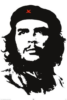 Che Guevara - had this poster on my bedroom wall - had no idea who he was. Black And White Logos, Black And White Sketches, Che Guevara Tattoo, Che Quevara, Famous Legends, Ernesto Che Guevara, Saddam Hussein, Famous Pictures, Political Art