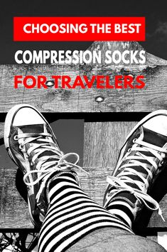 Compression socks are good for you and sometimes even essential. Discover why? And which are the best compression socks for flying of 2018 in our compression socks guide...********** Best compression socks | Compression socks for traveling | Compression socks for long flights