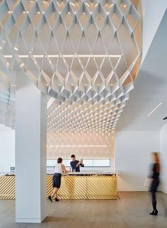 Club Design, Great Hotel, Retail Interior, Restaurant Bar, Hospitality, Architecture Design, Ceiling Lights, Interior Design, Trellis