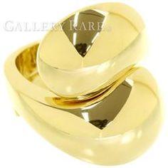 カルティエ リング インヤンリング K18YGイエローゴールド リングサイズ53 Cartier 指輪 ジュエリー