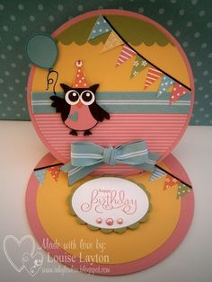 inkyloulou Designs, happy birthday owl!