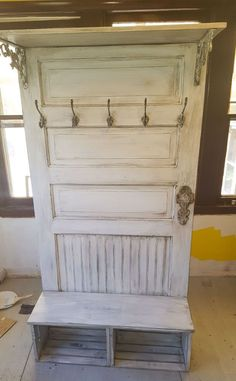 An Old Door Upcycle …