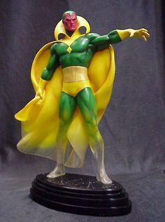 Vision Phasing statue Sculpted by: Randy Bowen & Shiflett Brothers Release Date: December 2005 Edition Size: 300 Order Of Release: Phase II (statue #53)