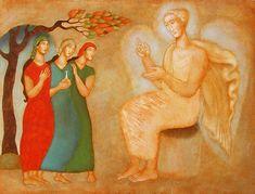 Religious Icons, Religious Art, Empty Tomb, Jesus Mary And Joseph, Biblical Art, Catholic Art, Orthodox Icons, Sacred Art, Christian Art