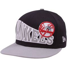 f38cb0806a2 New York Yankees Navy Blue-Gray Stoked Snapback Hat Yankees Hat