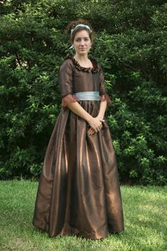 http://sensibility.com/blog/patterns/ladies-1780s-portrait-dress-pattern/ why don't we dress like this anymore...