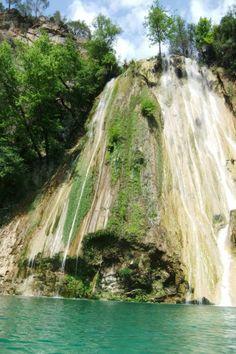Flying water waterfall in Manavgat Serik the tour 04/20/2013