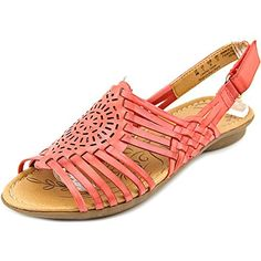 Naturalizer Wendy Women US 10 Red Fisherman Sandal >>> You can get additional details at the image link.