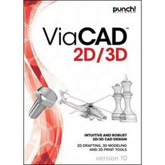 Punch! ViaCAD 2D/3D v10 for Windows PC [Download] - http://www.real3dprinter.com/3d-printers/punch-viacad-2d3d-v10-for-windows-pc-download/?utm_source=PN&utm_medium=Pinterest+3d+printers&utm_campaign=SNAP%2Bfrom%2BThe+3D+Printing+Website #2D3D, #Download, #Punch, #ViaCAD, #Windows