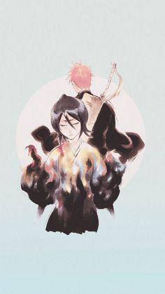 Rukia & Ichigo Wallpaper