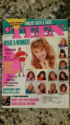 Teen magazine october 1987 vintage women fashion seventeen y Craft Shelves, 1990s Nostalgia, Love The 90s, Teen Fashion, Womens Fashion, 80s Hair, Seventeen Magazine, Stars Then And Now, David Bowie