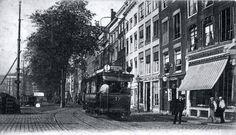 Rotterdam - Nieuwe Haven N.Z. H.Janssen Hutteman zat op no 105, Spekslagerij en fijne vleeschwaren. Bij de Oostmolenstraat.