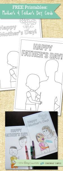 FREE Mother's Day & Father's Day Printables