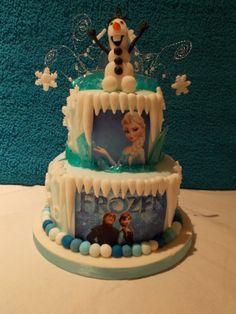 Disneys 'Frozen' cake by Scrumptious cakes Minehead