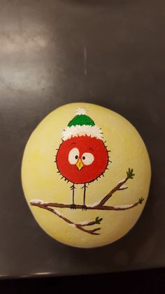 Fun and Easy DIY Christmas Crafts for Kids to Make – Painted Rocks Pebble Painting, Pebble Art, Stone Painting, Diy Painting, Rock Painting Ideas Easy, Rock Painting Designs, Paint Designs, Christmas Rock, Christmas Crafts