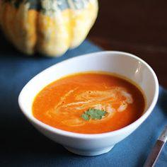 Roasted Tomato, Squash & Coconut Milk Bisque Recipe | Yummly