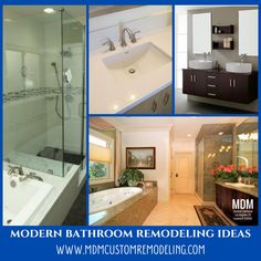 Are you planning to upgrade your existing bathroom? Before that know some remodeling ideas that will make your bathing space accessible as well as functional. Bathroom Remodeling, Remodeling Ideas, Corner Bathtub, Modern Bathroom, Bathing, Make It Yourself, Space, How To Make, Design