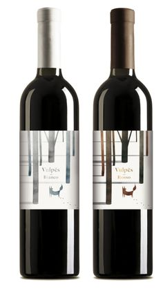 Vulpes - Wines by Andrea Battello, via Behance