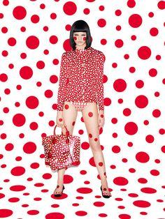 Dots. Kusama pour Vuitton, a la folie