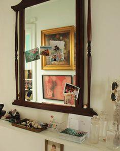 como el espejo de mamá, para el pasillo