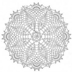 Crochet Doilies -- Free Crochet Doily Patterns