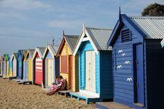#Melbourne #Australia: Brighton beach