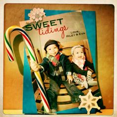 DIY holiday card -- pinterest inspired :)