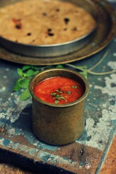 Tomato Salna | Plain Salna - A South Indian vegan Tomato Curry that can be served along with Indian bread varieties, rice & biryanis. #SouthIndian #Indiancurry #Curry #recipes #Curryrecipes #tomato #Vegan #Vegetariancurry