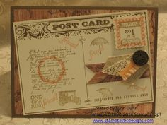 Stamptastic Designs: Vintage ~ Postage Collection