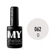 My SHELLAC Μόνιμο Βερνίκι No 062 14ml Νέο μόνιμο βερνίκι νυχιών ιδανικό για τοποθέτηση σε φυσικά και τεχνητά νύχια. Δίνει τέλειο χρώμα και φυσικό αποτέλεσμα που διαρκεί έως και 4 εβδομάδες.  Πολυμερίζεται σε λάμπα LED ή UV. Είναι 100% άοσμο χρώμα-gel, και δεν χαράζεται.  Made in the U.S.A.  Τιμή €12.38