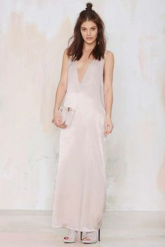Nasty Gal Your Move Satin Maxi Dress | Shop Clothes at Nasty Gal