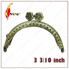 Ownstyle Embossment Butterfly Clasp Metal Frame Purse Frame Kiss Clasp Purse Frame Purse Handle Vintage Bag Accessories