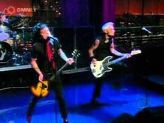 Green Day - American Idiot (Live on Letterman) I don't know how they slipped past security........