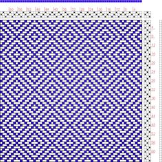 Hand Weaving Draft: Page 128, Figure 1, Donat, Franz Large Book of Textile Patterns, 3S, 3T - Handweaving.net Hand Weaving and Draft Archive...