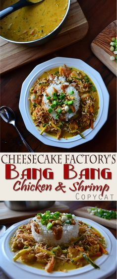 Cheesecake Factory Bang Bang Chicken & Shrimp copycat. This tastes just like the real thing and is my favorite dish on their menu!