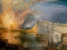 Joseph Mallord William Turner, The Burning of the Houses of Lords and Commons, October, 1834 Oil on canvas, 92 x 123 cm; Philadelphia Museum of Art Joseph Mallord William Turner, Google Art Project, Claude Monet, Chambre Des Lords, Art Romantique, Turner Painting, Poster Online, Philadelphia Museum Of Art, Philadelphia Pa