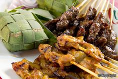 Satay sticks - one of the best street eats!