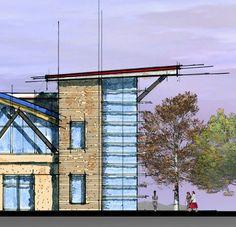 Sequoyah Field House by Roberto Carlos Ramírez, via Behance
