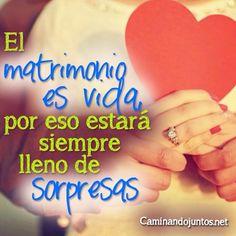 #caminandojuntos #matrimonio #frasepara2 #vida #sorpresas #frase #quote www.caminandojuntos.net