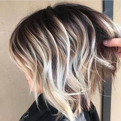 20 Awesome Balayage Hair Color Ideas For 2019 Hair Color Ideas bob hair color ideas Bob Hair Color, Haircut And Color, Ombre Hair Color, Ombre Bob Hair, Hair Color And Cuts, Short Hair With Color, Short Hair Colors, Balayage Hair Blonde, Balayage Color