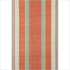 The Dash and Albert Rugs Woven Orange Autumn Stripe Area Rug has an alluring design that is perfect for all kinds of decors. It has a stunning pattern of orange stripes that adds a pop of color Orange Grey, Green And Grey, Carpet Runner, Rug Runner, Dash And Albert, Contemporary Area Rugs, Orange Area Rug, Striped Rug, Cotton Lights