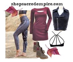 """""""autumn layers"""" by sacredempire on Polyvore featuring Timberland"""