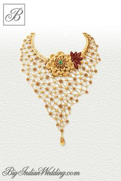 Azva bridal gold jewellery