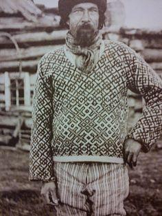 """Rushian fisherman sweater. Den ternede ko: """"Museums-gammelt"""" strik og fiskertrøjer"""