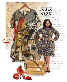"""""""Fall Look: Plus Size Dresses"""" by ysmn-pan ❤ liked on Polyvore featuring Maggy London, Marni, Marc Jacobs, Pluma, Twig, contest and dress"""