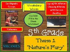 Cloze Worksheets for Houghton Mifflin Harcourt 5th Grade Theme 1