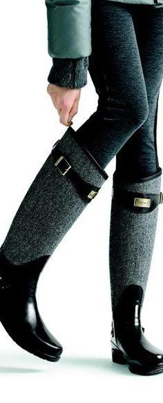 Hunter Regent Apsley Knee-High Boot ♥✤ | KeepSmiling | BeStayClassy