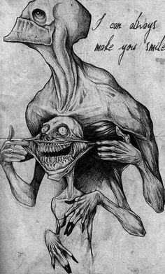 Dark and creepy things fascinate me.