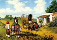 Un alto en la pulpería (1863) Prilidiano Pueyrredón